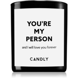 Candly & Co. You're my person illatos gyertya 250 g