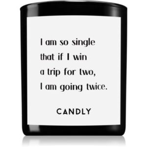 Candly & Co. I am so single illatos gyertya 250 g