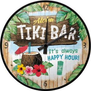Nostalgic Art Retró óra - Tiki Bar