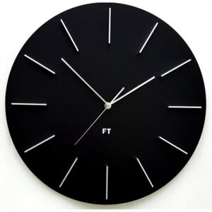 Future Time FT2010BK Round black Design falióra, átmérő 40 cm