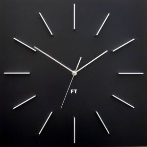 Future Time FT1010BK Square black Design falióra, 40 cm