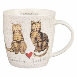 Tremendous Tabbies porcelán bögre, 400 ml - Churchill China
