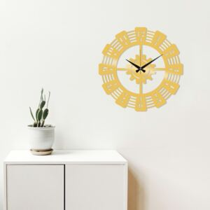 Metal Wall Clock 22 fali óra