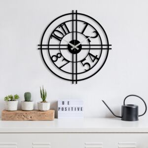 Metal Wall Clock 33 fali óra