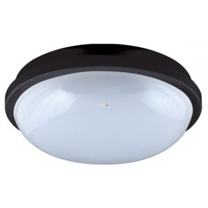 Beghelli Geo LED Round 20W 3000K 1650lm IP65 220mm fekete 75326