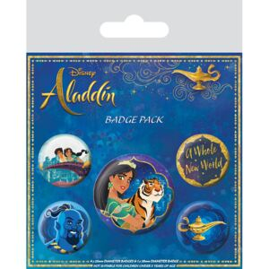 Aladdin - A Whole New World kitűző