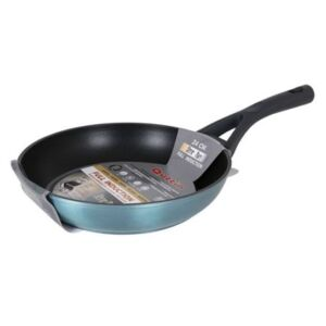 BigBuy Cooking Serpenyő, Kék, 24 cm