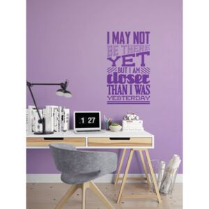 Falmatrica GLIX - Motivation 30 x 50 cm Lila