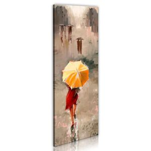 Vászonkép Bimago - Beauty in the rain 40x120 cm