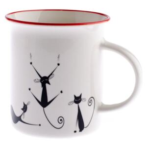 Cats Brita porcelán bögre, 310 ml - Dakls
