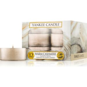 Yankee Candle Warm Cashmere teamécses 12 x 9,8 g