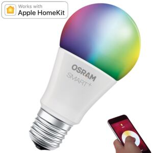 Osram Smart+ CLA60 10W E27 RGBW Multicolor, iOS Apple HomeKit kompatibilis