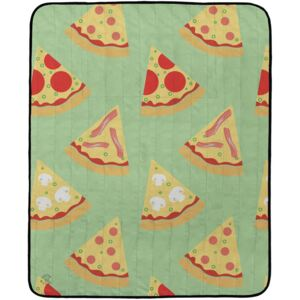 Butter Kings Kemping pléd Tasty pizza, 145 x 180 c