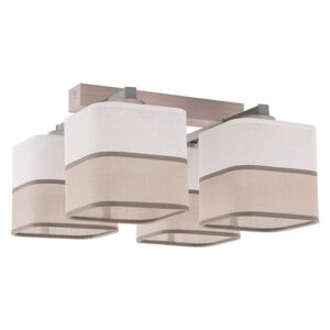 TK Lighting csillár TONI WHITE 4xE27/60W/230V TK0718