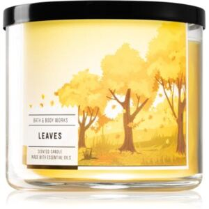 Bath & Body Works Leaves illatos gyertya I. 411 g