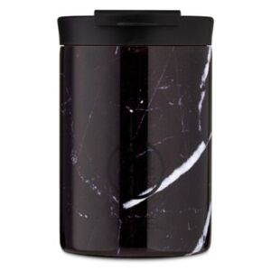 Travel GRAND COLLECTION Black Marble 0,35l kávé termosz dupla falú utazó bögre
