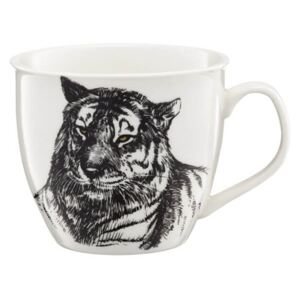 Ambition Wild porcelán bögre - 550 ml - tigris