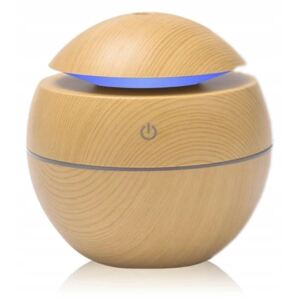 Aroma diffúzor LED USB 130 ml LIGHT WOOD