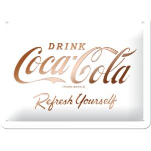 Nostalgic Art Fémtáblák: Coca-Cola Refresh Yourself - 15x20 cm