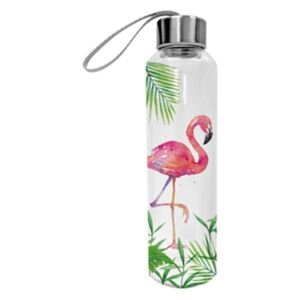 PPD.M603395 Üveg flaska 550ml, Tropical Flamingo