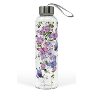 PPD.M603645 Üveg flaska 550ml, Butterfly Splash