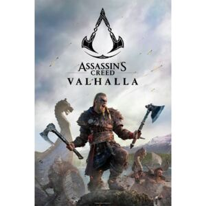 Plakát Assassin's Creed: Valhalla - Raid, (61 x 91,5 cm)