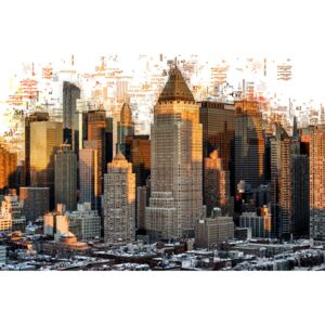 Numbers Collection - New York Buildings, (128 x 85 cm)