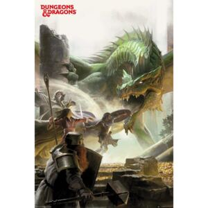Plakát Dungeons & Dragons - Adventure, (61 x 91,5 cm)