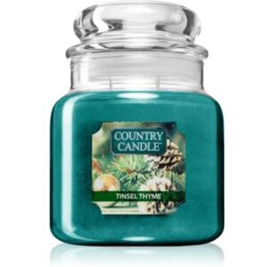 Country Candle Tinsel Thyme illatos gyertya 453 g