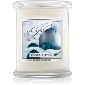Kringle Candle Tinsel Thyme illatos gyertya 411 g