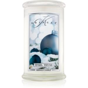 Kringle Candle Tinsel Thyme illatos gyertya 624 g