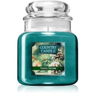 Country Candle Tinsel Thyme illatos gyertya 104 g