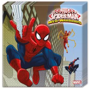 Ultimate Spiderman Web Warriors, Pókember szalvéta 20 db-os