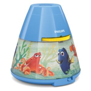 Philips Philips 71769/90/16 - LED Gyerek projektor DISNEY DORY LED/0,1W/3xAAA P1356