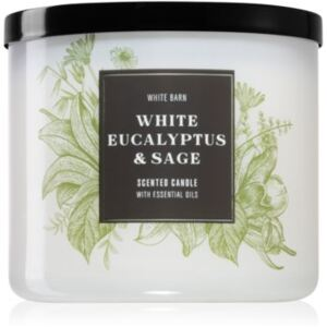 Bath & Body Works White Eucalyptus & Sage illatos gyertya I. 411 g