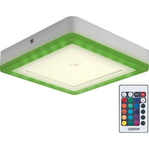 Osram LED Color + White Square 19W 3000K 780lm IP20 198x198mm mennyezeti LED lámpa
