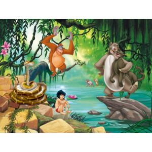 Buvu Vlies fotótapéta: The Jungle Book - 360x270 cm
