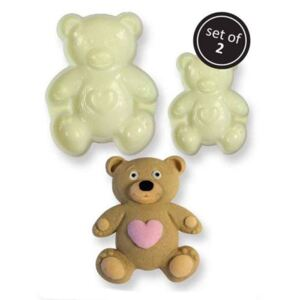 Fondant forma - Maci, Pop It Teddy Bear 2 db