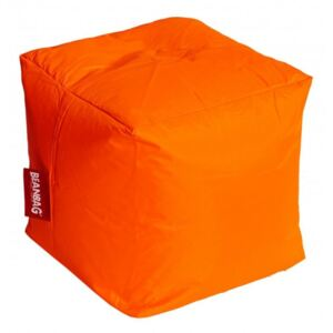 BeanBag Babzsák Cube fluo orange