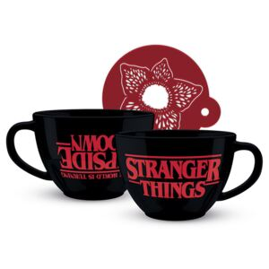 Csésze Stranger Things - The World is Turning Upside Down