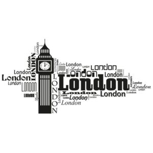 Falmatrica London Big Ben 100x50cm NS3413A_1GD