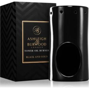 Ashleigh & Burwood London Black and Gold kerámia aromalámpa