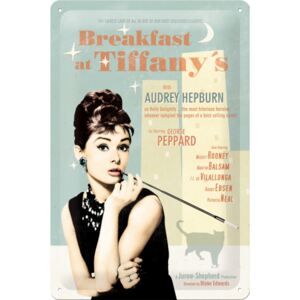 Nostalgic Art Fémtáblák - Breakfast at Tiffanys