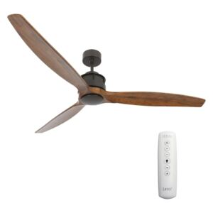 Lucci air Lucci air 210507 - Mennyezeti ventilátor AIRFUSION AKMANI fekete/barna FAN00126