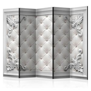 Paraván - Quilted Leather II [Room Dividers] 225 x 172 cm
