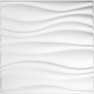 12 db WallArt Waves 3D falpanel GA-WA04