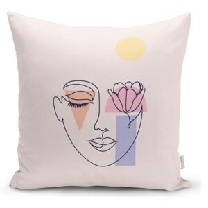 Post Modern Drawing párnahuzat, 45 x 45 cm - Minimalist Cushion Covers