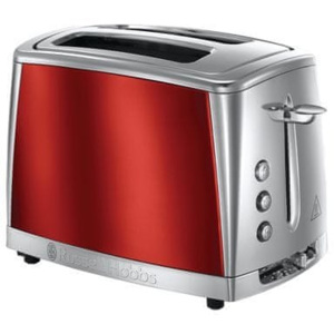 Russell Hobbs Luna Toaster 2SL Red