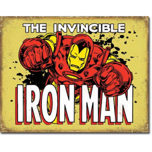 Fémplakát - The Invincible Iron Man (2)